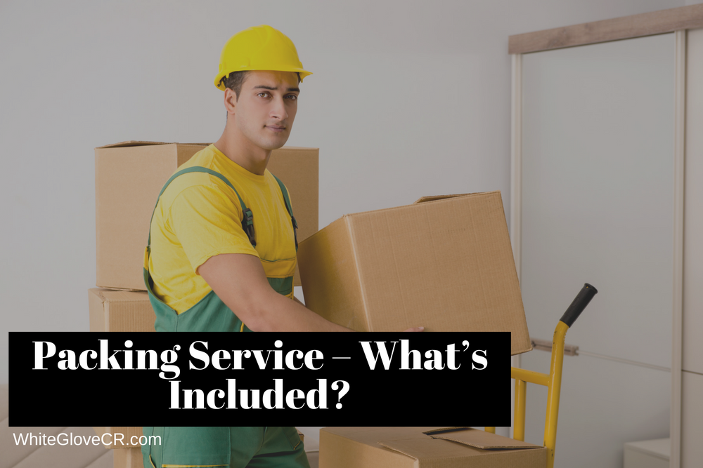 Packing Service – What's Included?