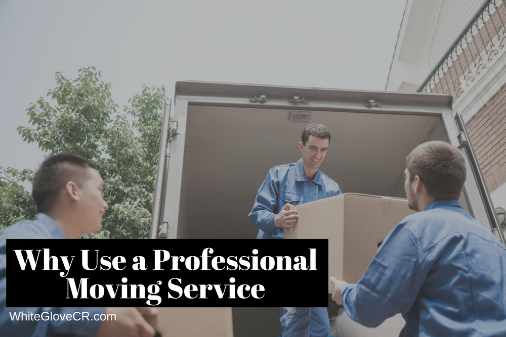 Why Use a Professional Moving Service