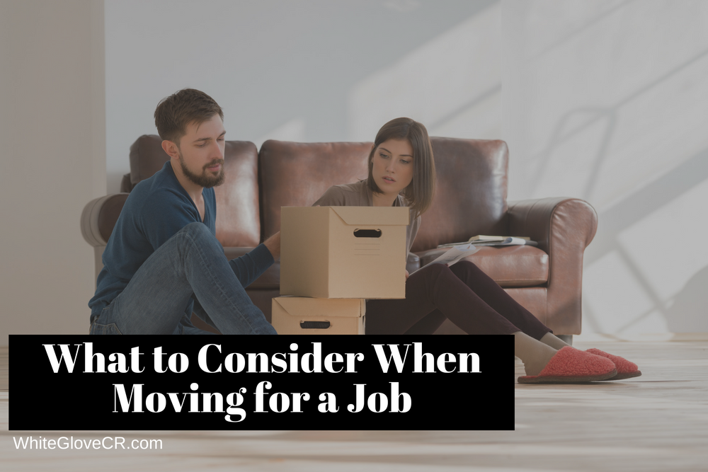 What to Consider When Moving for a Job
