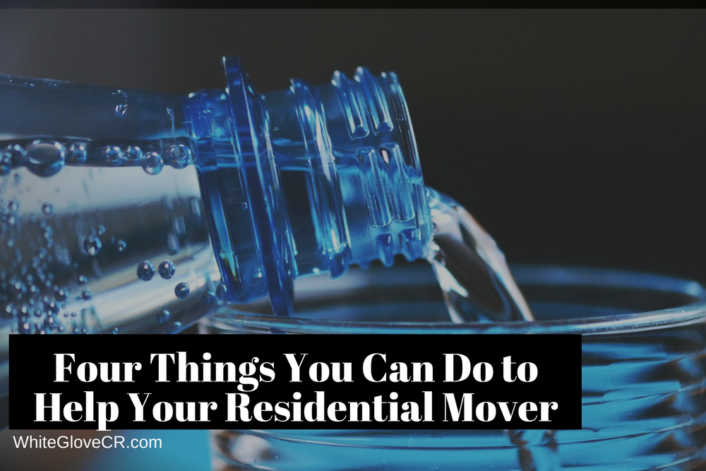 Four Things You Can Do to Help Your Residential Mover