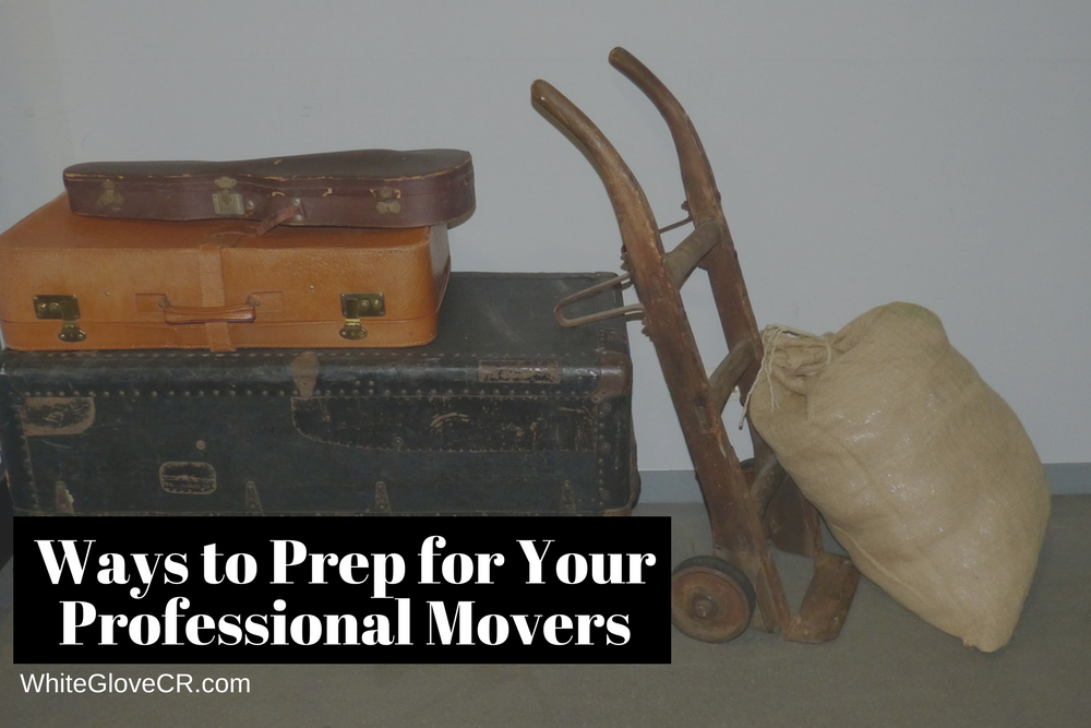 Ways to Prep for Your Professional Movers