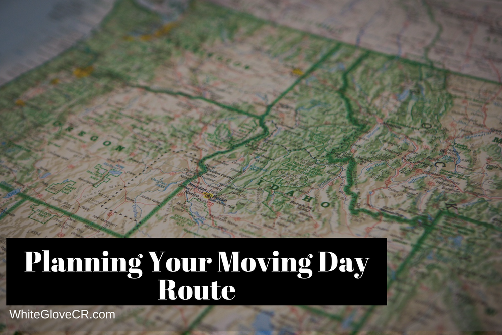 Planning Your Moving Day Route