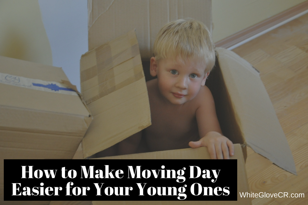 How to Make Moving Day Easier for Your Young Ones