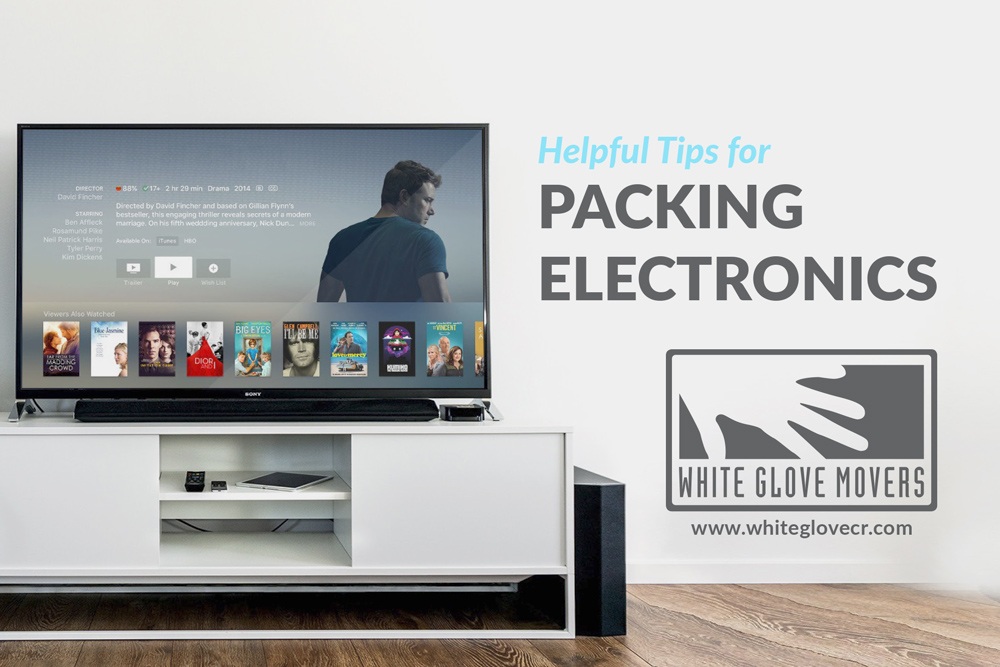 Helpful Tips for Packing Electronics