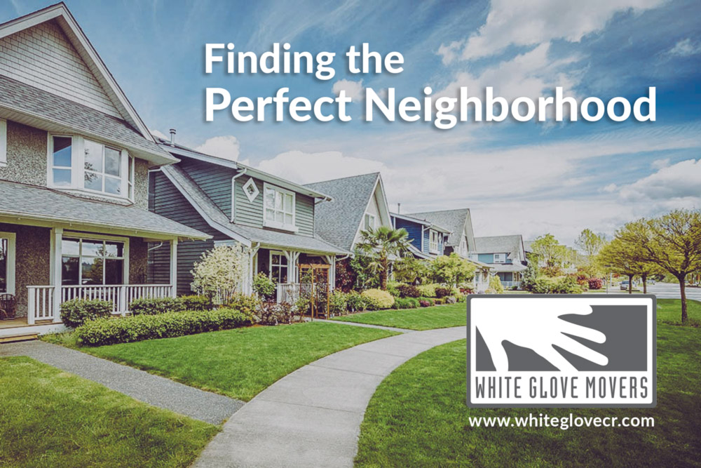 Finding the perfect neighborhood