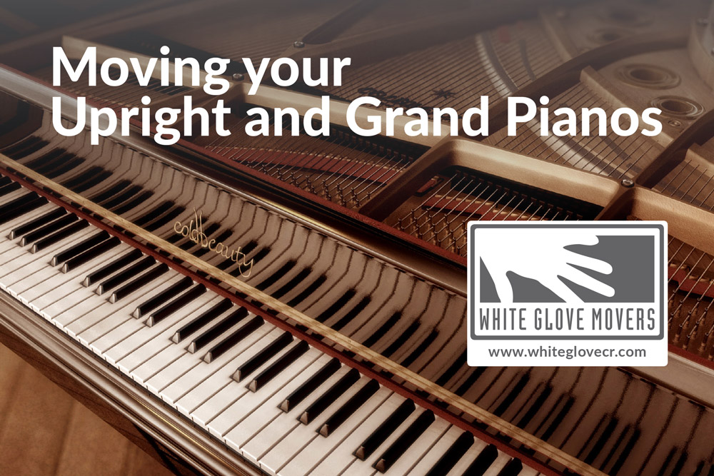 Moving Your Upright and Grand Pianos