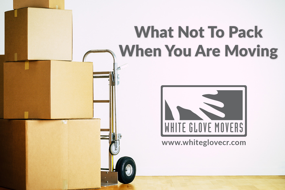 What Not to Pack When You're Moving