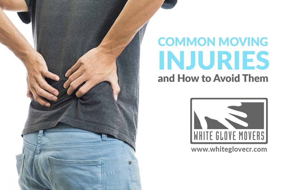 Common Moving Injuries and How to Avoid Them