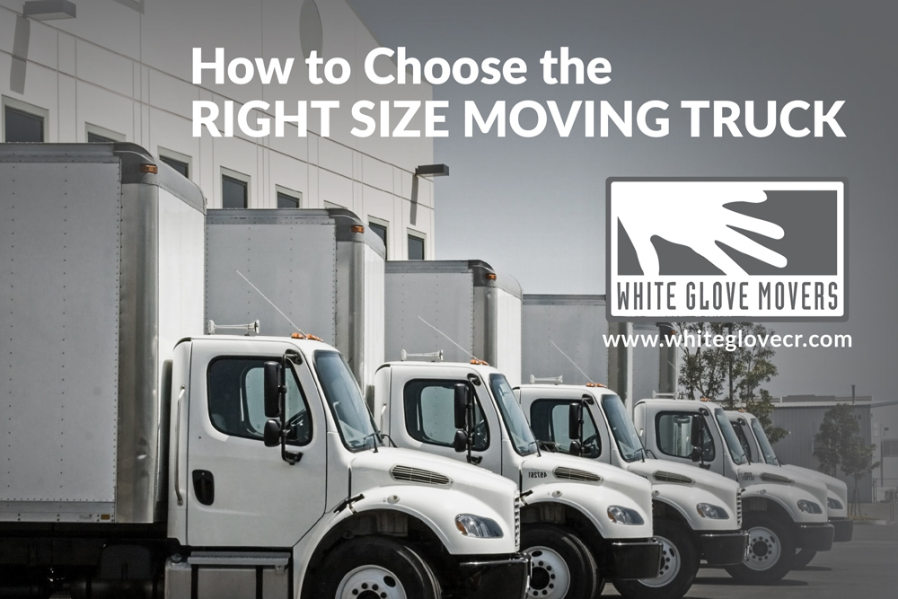 How to Choose the Right Size Moving Truck