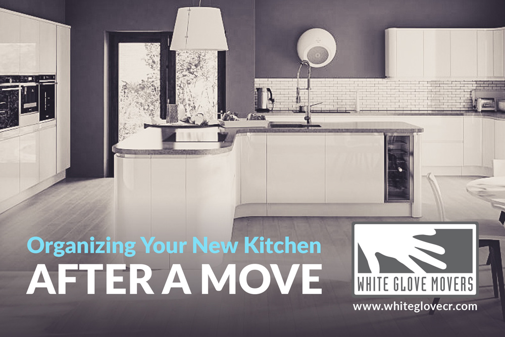 Organizing Your New Kitchen After a Move