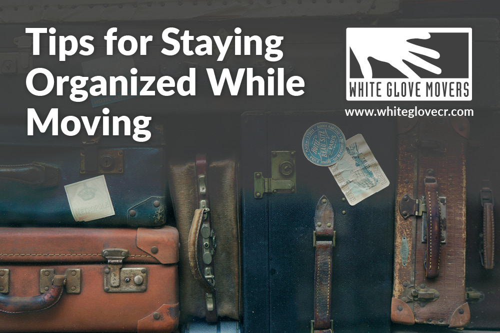 Tips for Staying Organized While Moving