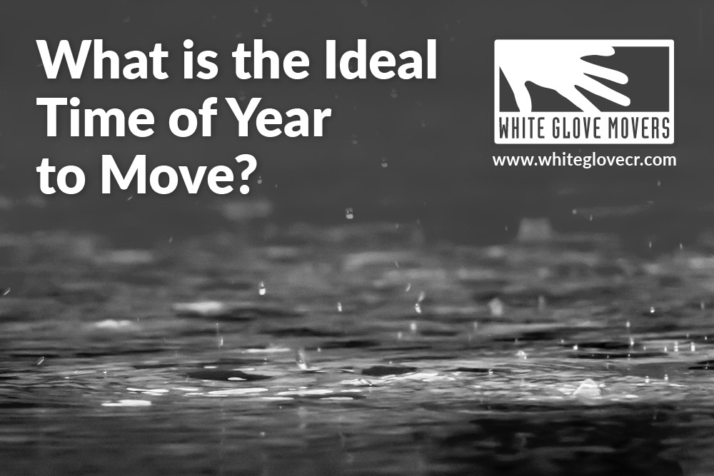 What is the Ideal Time of Year to Move?