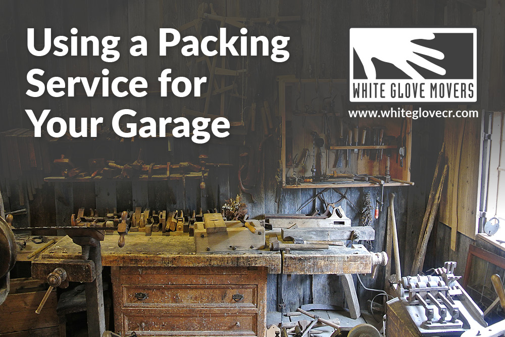 Using a Packing Service for Your Garage
