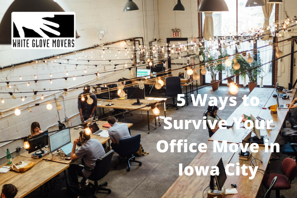 5 Ways to Survive Your Office Move in Iowa City