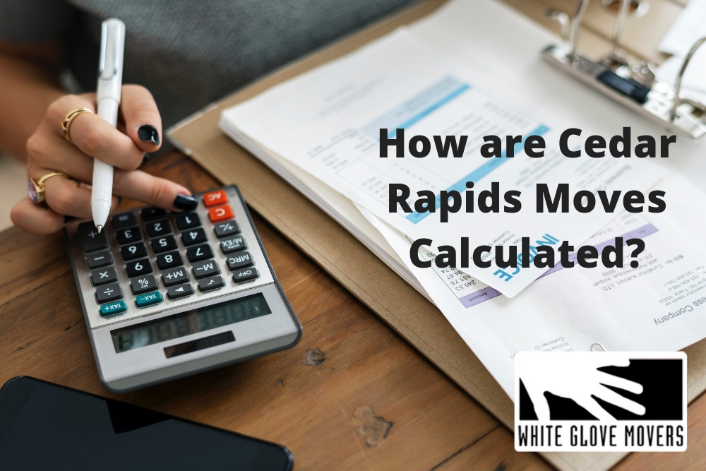 How are Mover Cedar Rapids Calculate Their Estimates?