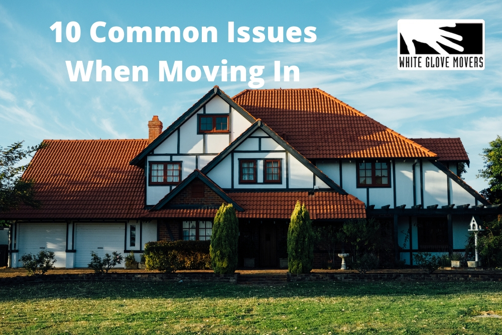 10 Common Issues When Moving In