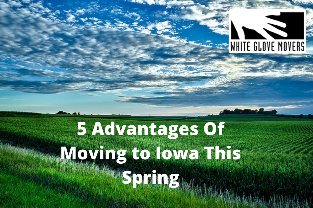 5 Advantages Of Moving to Iowa This Spring