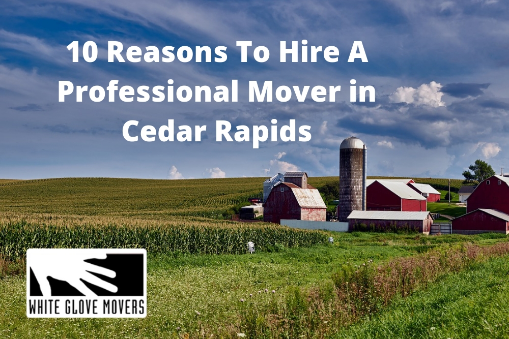 10 Reasons To Hire A Professional Mover in Cedar Rapids