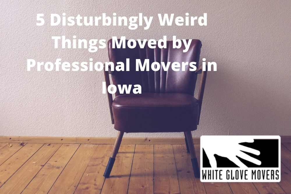 5 Disturbingly Weird Things Moved by Professional Movers in Iowa